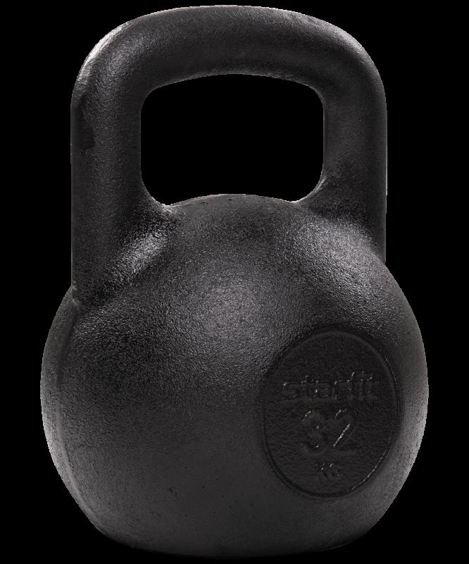 Гиря чугунная DB-602, 32 кг, Starfit