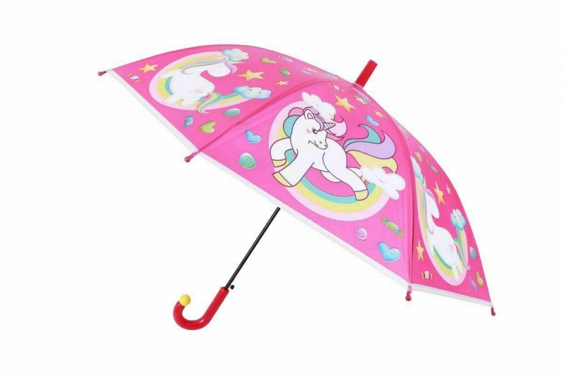 Зонт «ЕДИНОРОГ», розовый BRADEX DE 0497