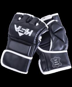 Перчатки для MMA Wasp Black, к/з, M, KSA