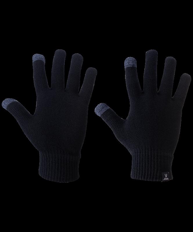 Перчатки зимние ESSENTIAL Touch Gloves, черный, Jögel
