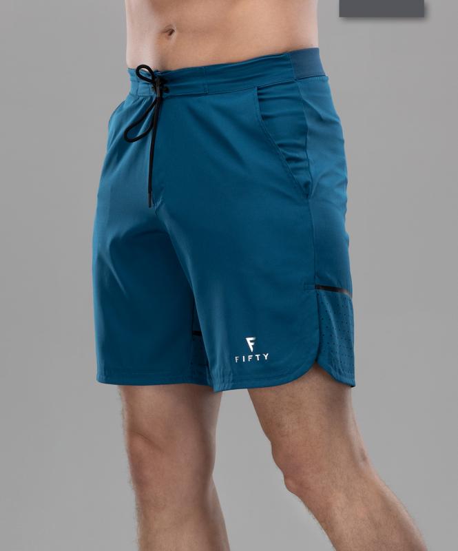 Мужские спортивные текстильные шорты Intense PRO FA-MS-0102, синий, FIFTY