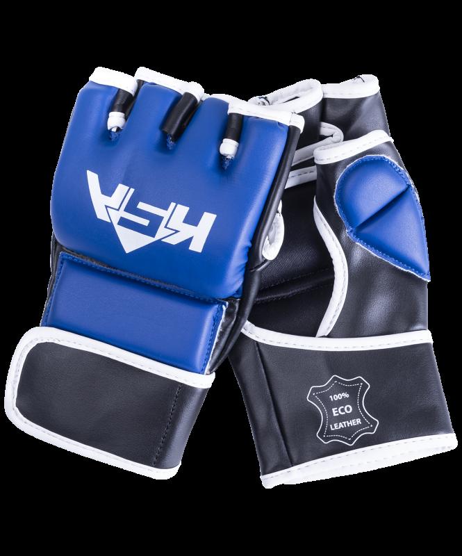 Перчатки для MMA Wasp Blue, к/з, S, KSA