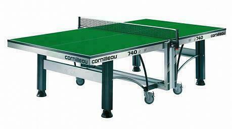 Теннисный стол Cornilleau Competition 740 ITTF Indoor Green
