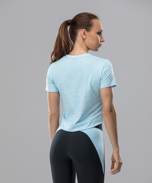 Женская спортивная футболка Intense PRO FA-WT-0102, голубой, FIFTY