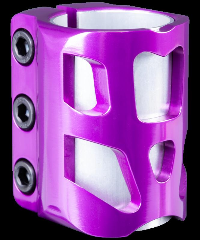 Зажим для трюкового самоката Fall-3 Purple, XAOS