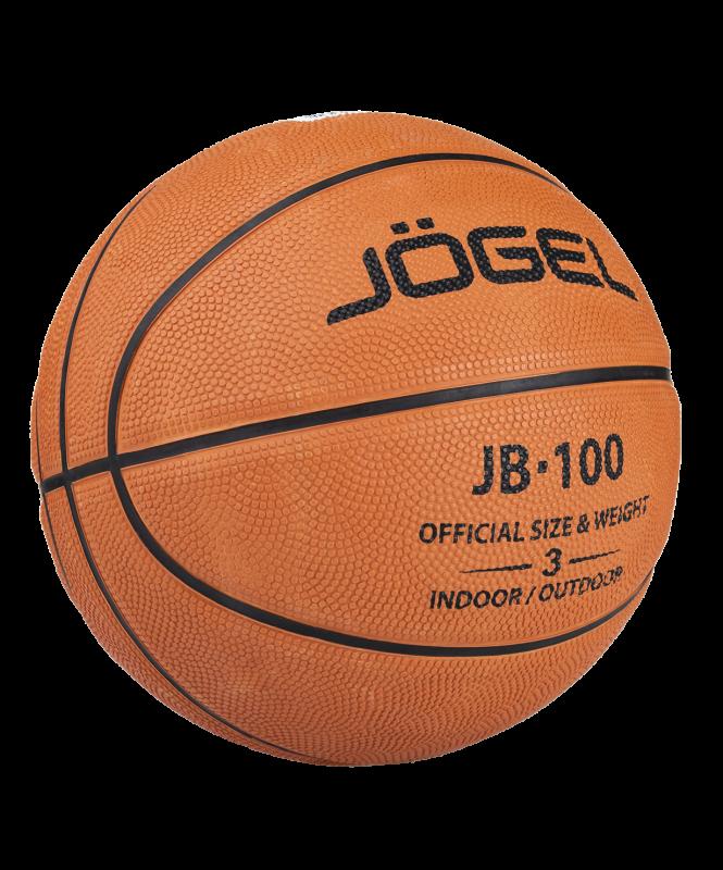 Мяч баскетбольный JB-100 (100/3-19) №3, Jögel