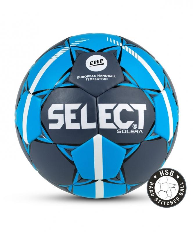 Мяч гандбольный SOLERA IHF №3, сер/син, Select