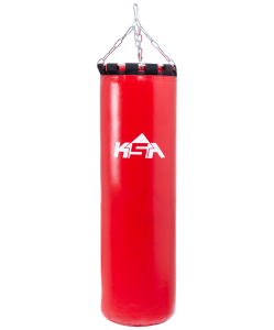 Мешок боксерский PB-01, 60 см, 15 кг, тент, красный, KSA