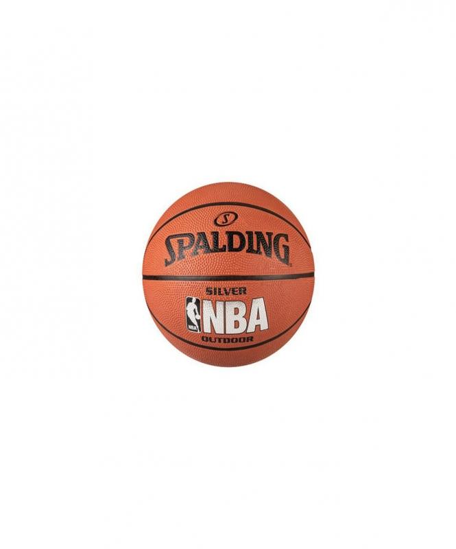 Мяч баскетбольный NBA Silver, №5, Spalding
