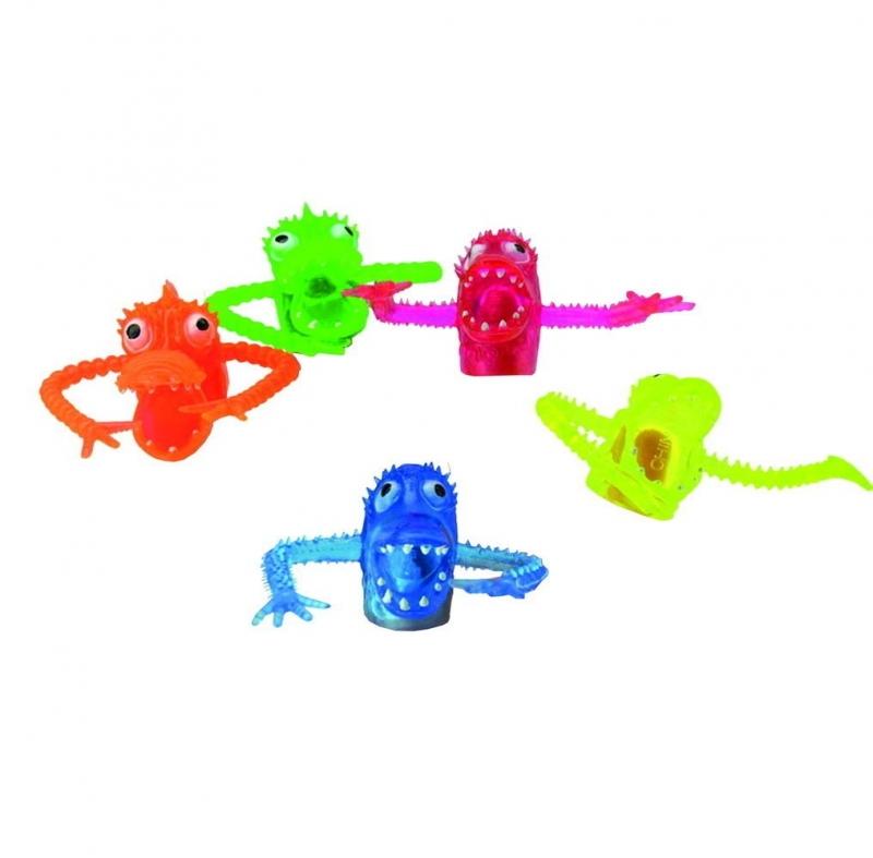 Набор пальчиковых игрушек «Зубастики», 5 штук. BRADEX DE 1168