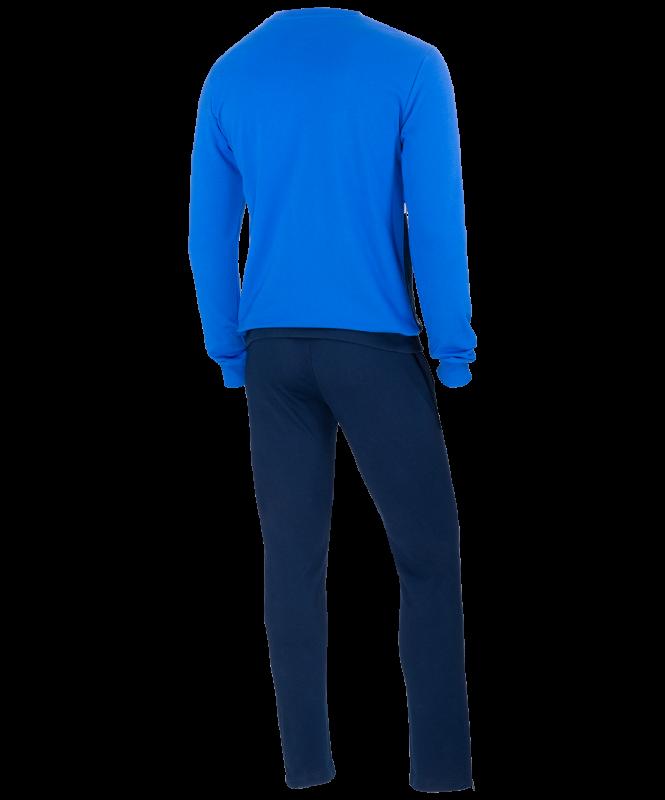 Тренировочный костюм JCS- 4201-971, хлопок, темно-синий/синий/белый, Jögel