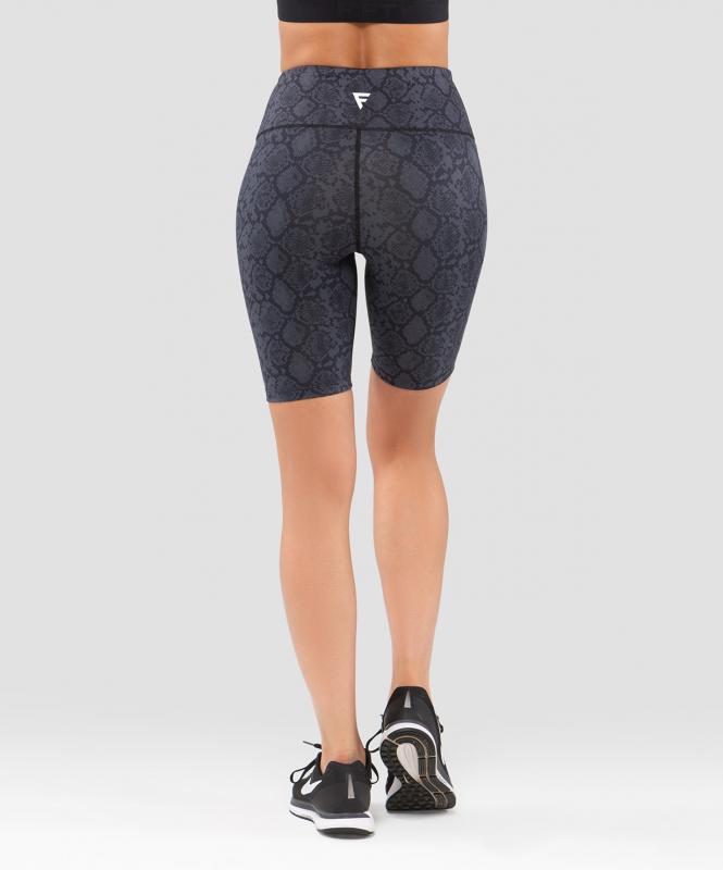 Женские спортивные шорты Rock Snake FA-WS-0202-889, с принтом, FIFTY