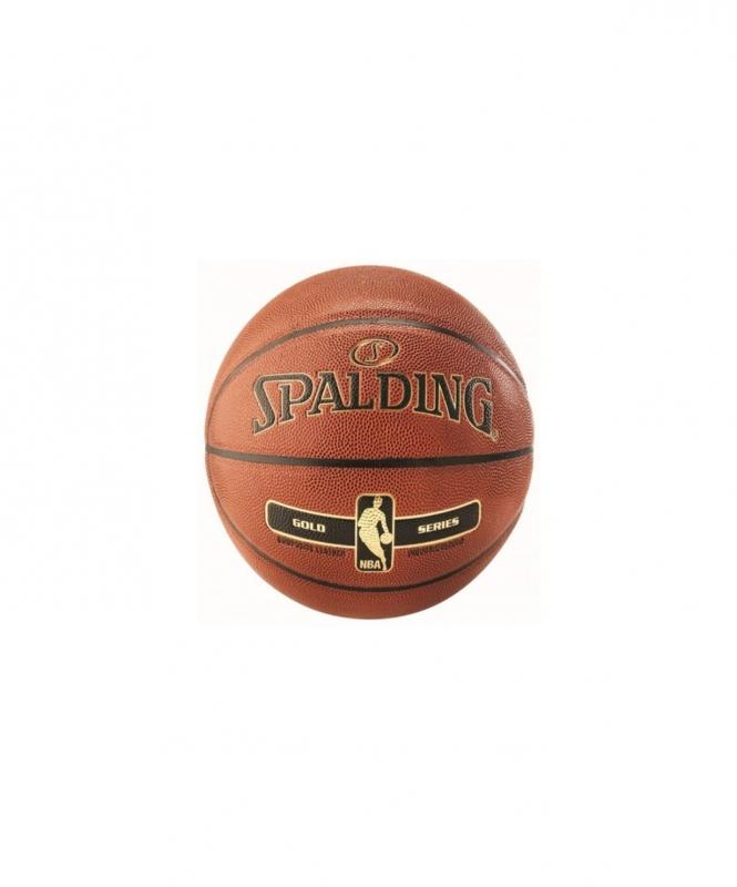 Мяч баскетбольный NBA Gold Ser I/O, №7, Spalding