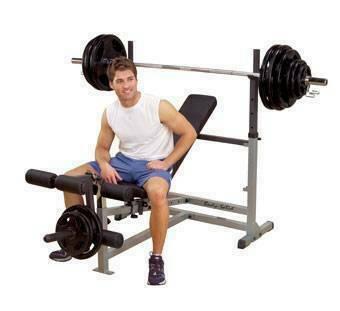 Универсальная скамья для жима олимпийской штанги Body Solid GDIB-46L