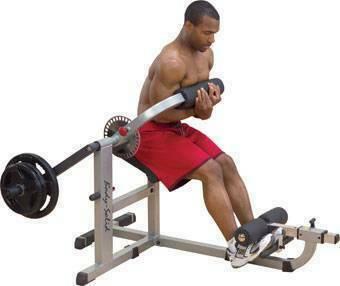 Маятниковый тренажер для мышц живота и спины Body Solid GCAB-360