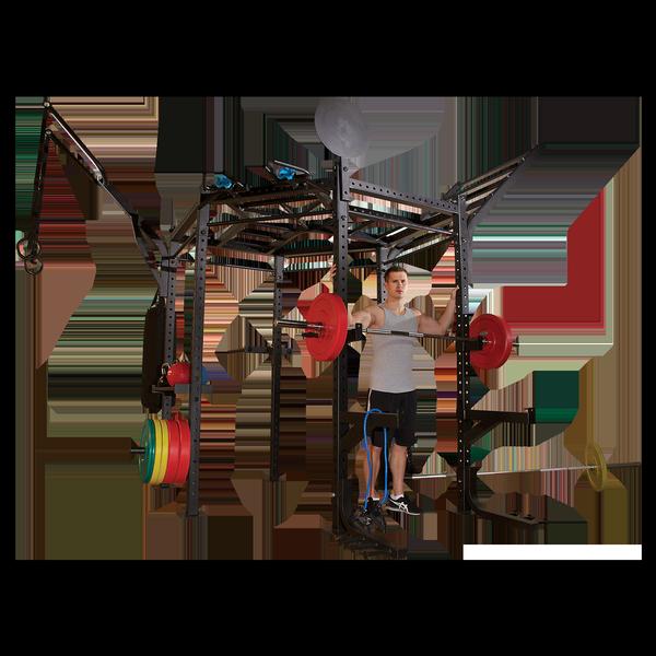 Гексагональная рама для кросс-тренинга CLUB FULL PACKAGE Body-Solid SR-HEXPROCLUB