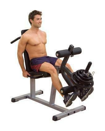 Сгибание - разгибание ног лежа Body Solid GLCE-365