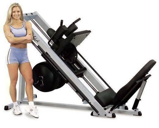 Жим ногами - гакк машина Body Solid GLPH-2100