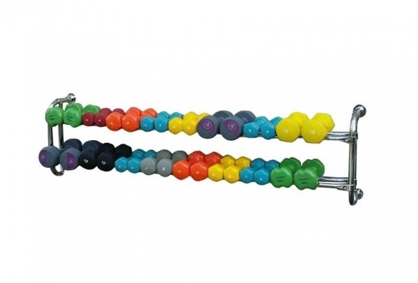 Подвесная консоль для 16 пар гантелей
