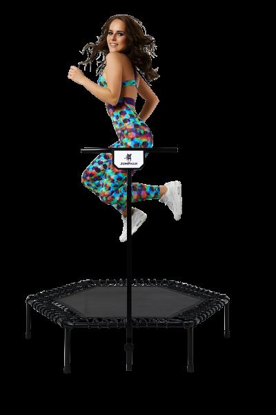 Батут для фитнеса Jumpman с ручкой