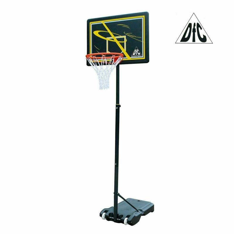 Мобильная баскетбольная стойка DFC 80х58см п/э KIDSD1