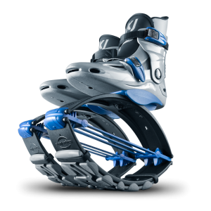 Kangoo Jumps Power Shoe Silver & Blue (Серебряный-синий)