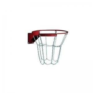 Кольцо баскетбольное антивандальное №7, с сеткой металлической