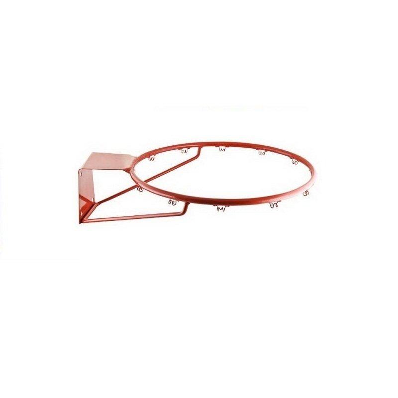 Кольцо баскетбольное труба 16 мм, №7 без сетки