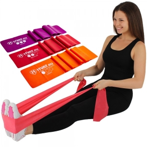 Набор для фитнеса «Латексная лента» Hvat