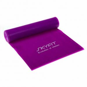 Эспандер ленточный SKYFIT сильное сопр. фиолетовый