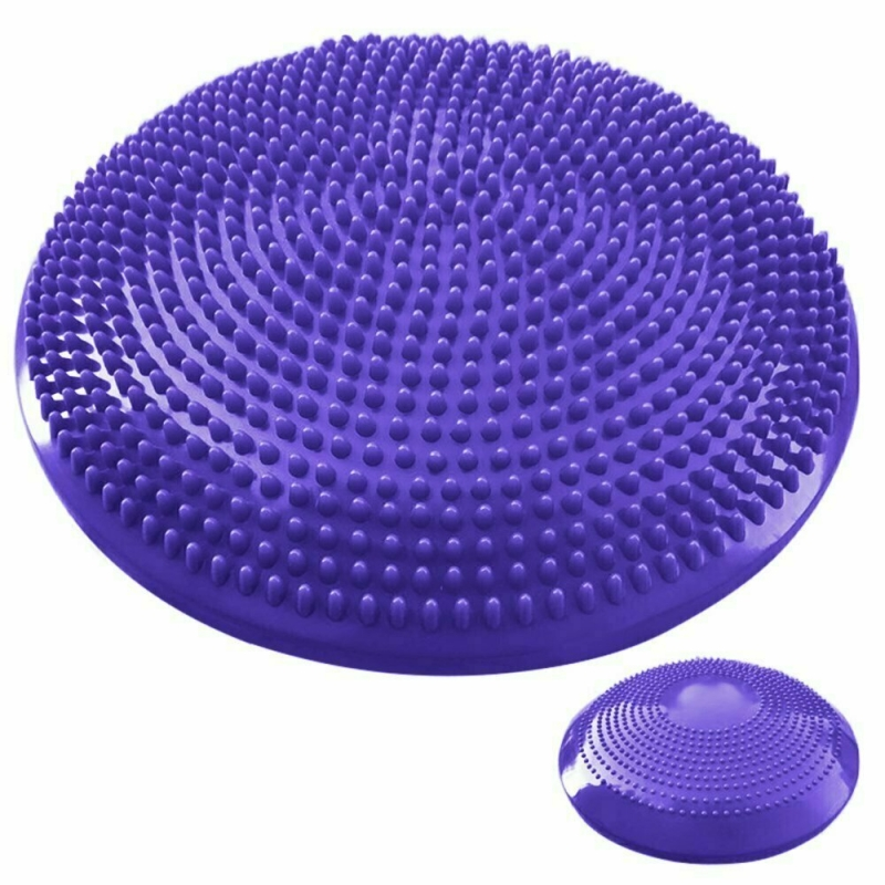 Полусфера массажная овальная надувная фиолетовая MSG300