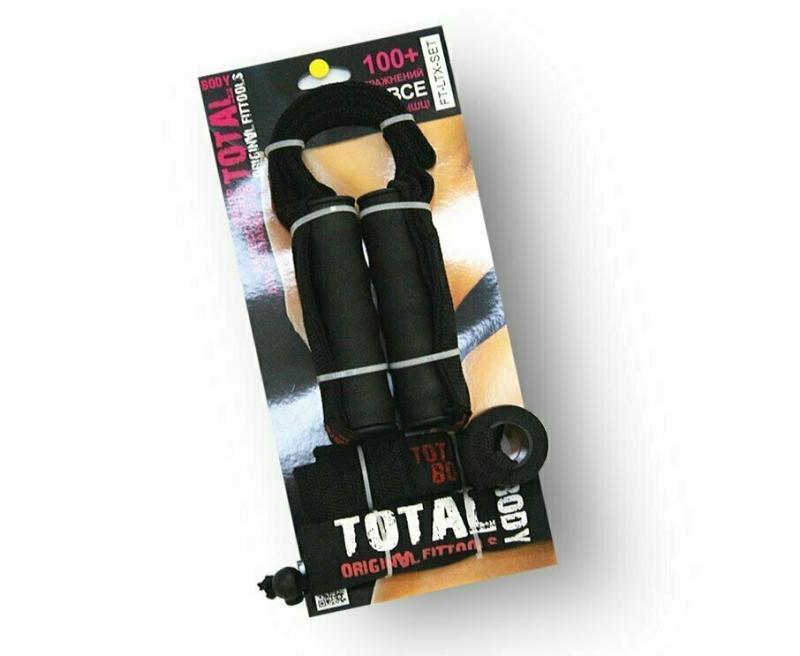 Набор аксессуаров для эспандеров (рукоятки, якорь, сумка) Original FitTools FT-LTX-SET