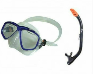 Набор маска с трубкой Sailboat YM230+YS97