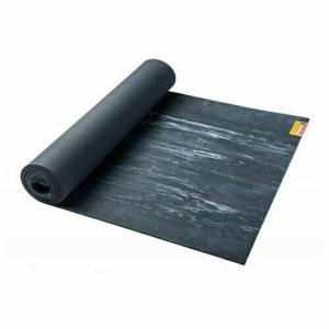 Коврик для йоги Hugger Mugger Para Rubber Mat, цвет: серо-голубой