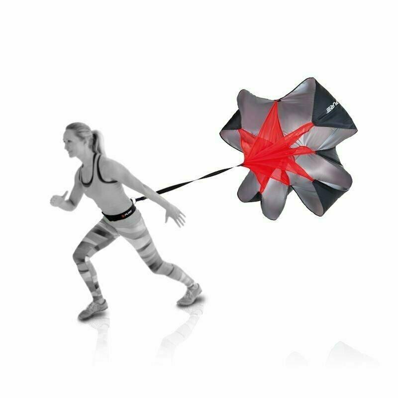 Парашют для бега (тормозной) PURE2IMPROVE SPEEDCHUTE