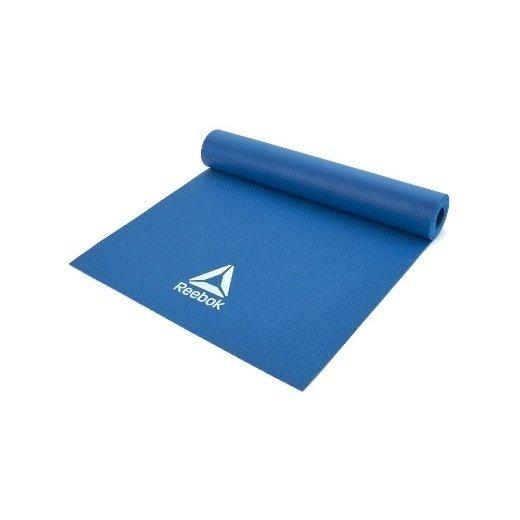 Коврик-мат для йоги Reebok синий RAYG-11022BL