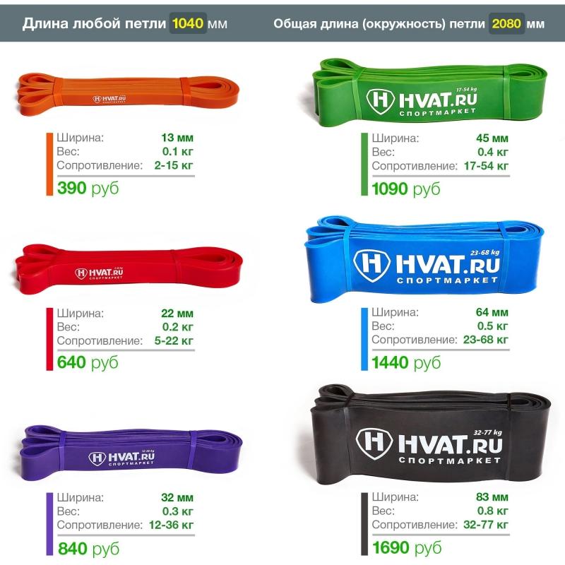 Резиновые петли HVAT