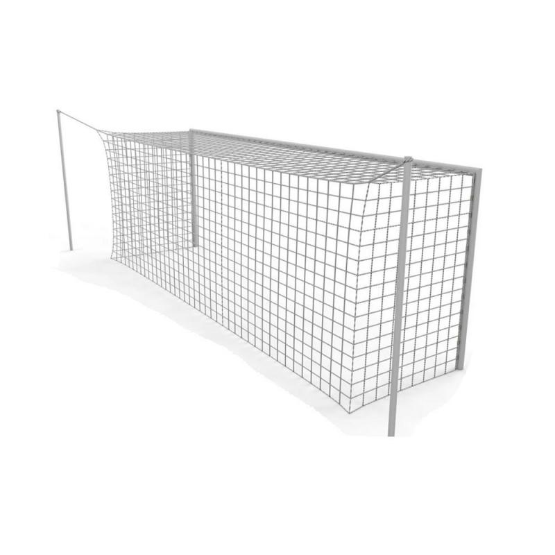 Сетка для футбольных ворот 732х244 см, нить 3.0 мм, ячейка 100х100 мм