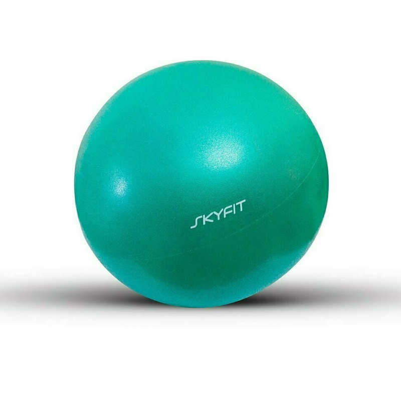 Мяч для пилатес SKYFIT зеленый 30 см.
