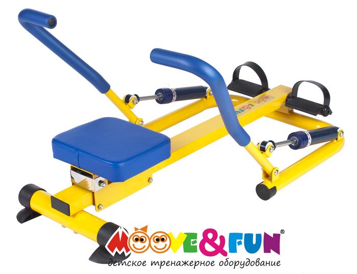 Детский гребной тренажер с двумя рукоятками Moove&Fun SH-04