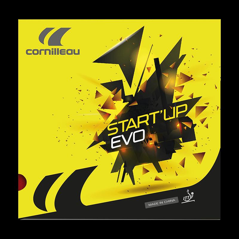 Накладка на ракетку для настольного тенниса Cornillleau START UP EVO 1.8мм Черная