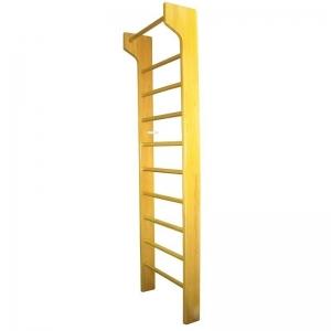 Стенка гимнастическая ПРЕМИУМ деревянная с ТУРНИКОМ 2600*800*140 мм