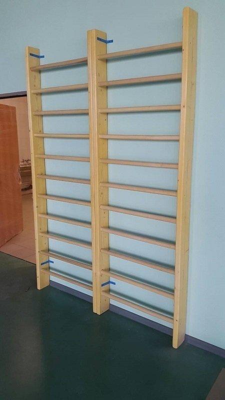 Стенка гимнастическая деревянная 2400*800*140 мм