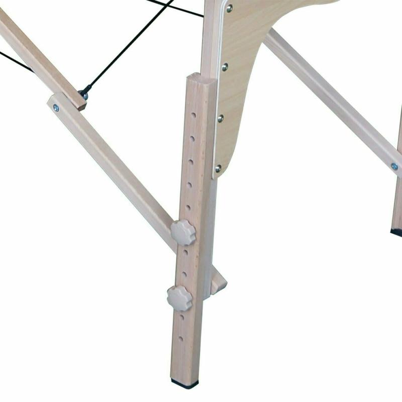 Массажный стол DFC NIRVANA, Relax, дерев. ножки, цвет зеленый (Green)