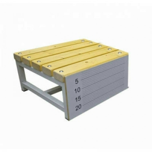 Тумба гимнастическая для измерения гибкости Дельта-Фитнес