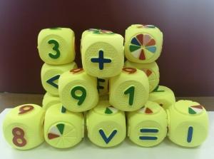 Набор кубиков веселая арифметика