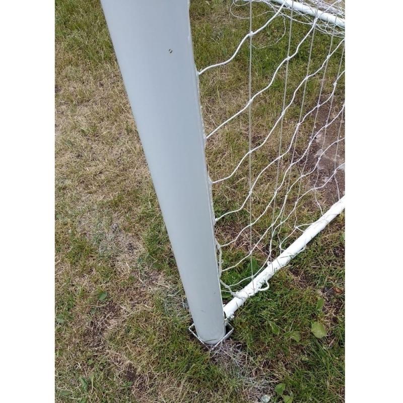 Ворота футбольные, размер 732x244 см, на стаканах, ТИП 2.