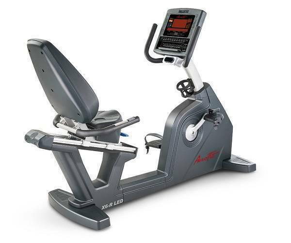 Горизонтальный велотренажер AeroFit X6-R LED