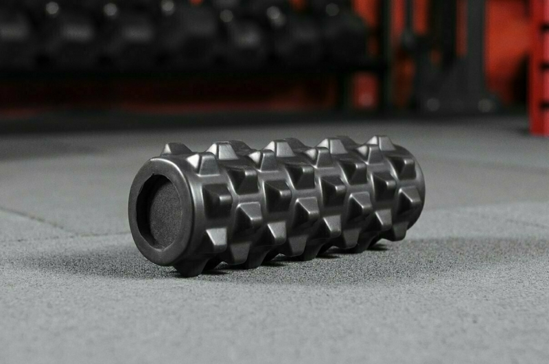 Массажный цилиндр Yousteel Grid foam roller, 330x127мм