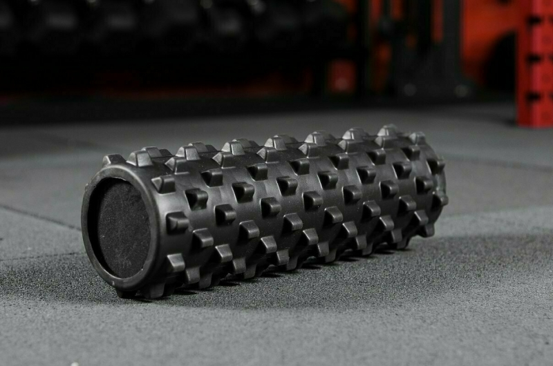 Массажный цилиндр Yousteel Grid foam roller, 450x150мм